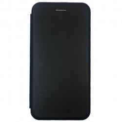 کیف کلاسوری مدل Leather  مناسب برای گوشی موبایل هواوی Y7 Prime 2018 (مشکی)