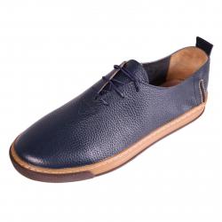 کفش مردانه چرم طبیعی ژاو مدل 1163 سایز 44 (سرمه ای)