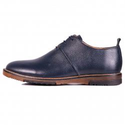 کفش مردانه چرم طبیعی ژاو مدل 1183 سایز 41 (سرمه ای)