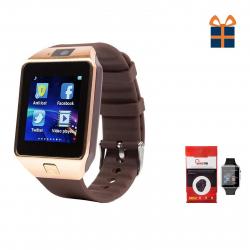 ساعت هوشمند کینگ تک مدل DZ09 به همراه محافظ صفحه نمایش شیدتگ