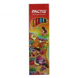 مداد رنگی 6 رنگ فکتیس مدل SMOOTH (چند رنگ)