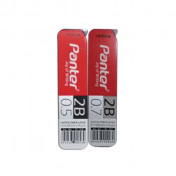 نوک مداد نوکی 0.7 و 0.5 پنتر مدل Hi-Polymer بسته 2 عددی (مشکی)