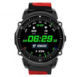 ساعت هوشمند کینگ ویر مدل FS08 سری 2018 (قرمز)