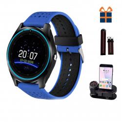 ساعت هوشمند اسمارت لایف مدل V9 همراه استند اختصاصی شیدتگ و بند اضافه