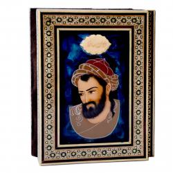کتاب حافظ با جلد خاتم کاری شیراز خاتم سایز 14 × 20
