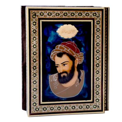 کتاب حافظ با جلد خاتم کاری شیراز خاتم سایز 14 × 20 (چند رنگ)