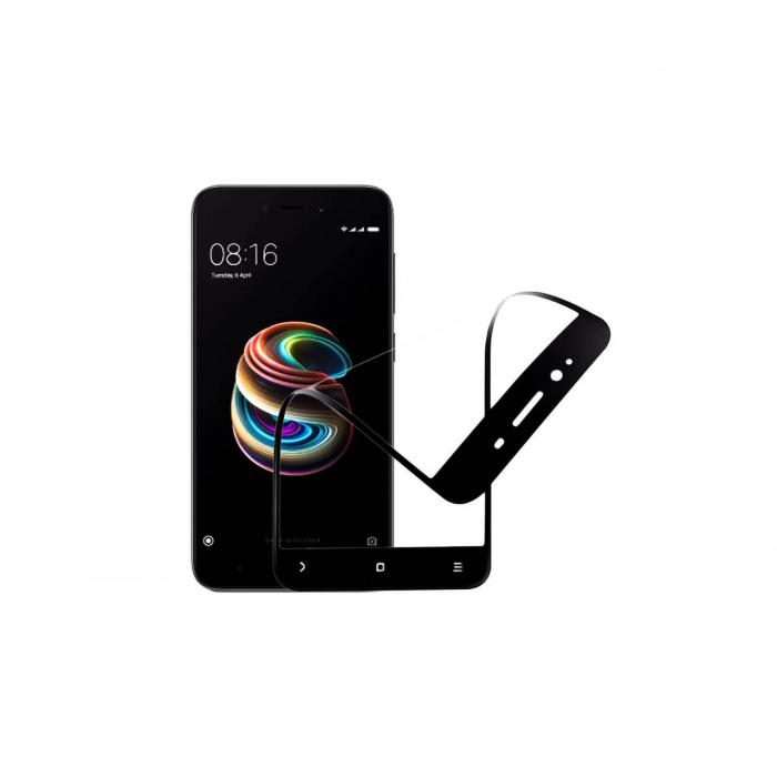 محافظ صفحه نمایش نانو گلس مدل 5D مناسب برای گوشی موبایل شیائومی redmi 5a