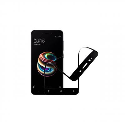 محافظ صفحه نمایش نانو گلس مدل 5D مناسب برای گوشی موبایل شیائومی redmi 5a (مشکی)