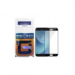 محافظ صفحه نمایش نانو گلس مدل 5D مناسب برای گوشی موبایل سامسونگ Galaxy J7 Prime