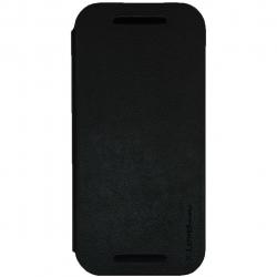کیف کلاسوری ایکس لول مدل Fib Color مناسب برای گوشی موبایل HTC M8 Mini (مشکی)