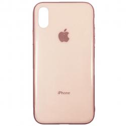 کاور فشن کیس مناسب برای گوشی موبایل اپل آیفون X (صورتی)