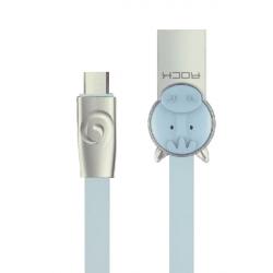 کابل تبدیل USB به MicroUSB راک مدل Horse به طول 1 متر