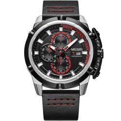 ساعت مچی عقربه ای مگیر مدل ML2062GS-BK-1 (مشکی - قرمز)