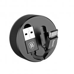 کابل تبدیل USB به USB-C باسئوس مدل New Era Type-C به طول 0.9 متر