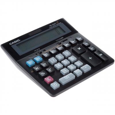 ماشین حساب کاسیو مدل TR-3341 (مشکی)