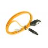 کابل دیتا SATA 3 قفل دار 50 سانتی متر (قرمز)