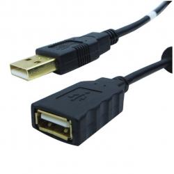 کابل افزایش طول USB 2.0 فرانت مدل P05 به طول 5 متر (مشکی)