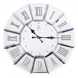 ساعت دیواری گلدن هوس مدل Roman کد 10010259 (بی رنگ)