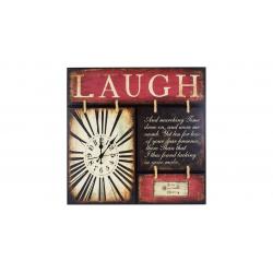 ساعت دیواری گلدن  طرح laugh کد 10010196