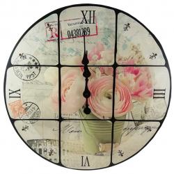 ساعت دیواری طرح flower کد 10010218