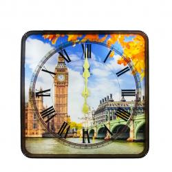 ساعت دیواری گلدن  طرح برج بیگ بن کد 10010161 (بی رنگ)