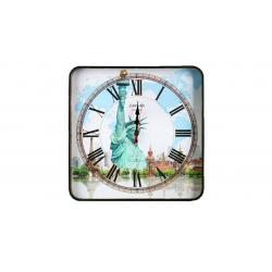 ساعت دیواری گلدن  طرح برج آزادی کد 10010122 (بی رنگ)