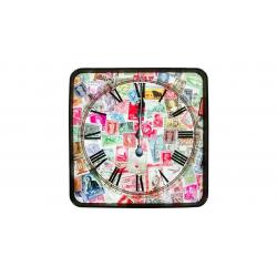ساعت دیواری گلدن  طرح timbre کد 10010159 (بی رنگ)