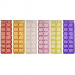قالب یخ مهروز مدل ملودی بسته 6 عددی (چند رنگ)