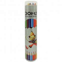 مداد رنگی 12 رنگ مدل DOMS کد 25020010 (چند رنگ)