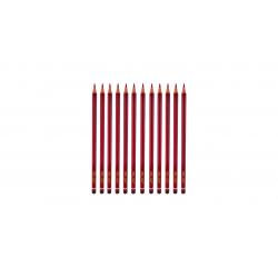 مداد قرمز مدل Little Fish کد 25010005 بسته 12 عددی