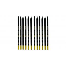 مداد مشکی آرت لاین کد 25010003 بسته 12 عددی (مشکی)