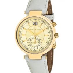 ساعت عقربه ای مایکل کورس مدل mk2528 (سفید - طلایی)