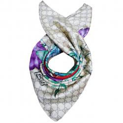 روسری طرح گل دار کد 02