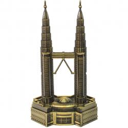 ماکت تزئینی شیانچی طرح برج 2 قلو مالزی