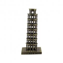 ماکت تزئینی شیانچی طرح برج پیزا (طلایی)