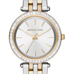 ساعت عقربه ای مایکل کورس مدل MK3405 (طلایی - نقره ای)