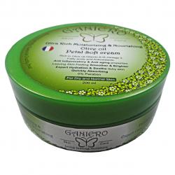 کرم مرطوب کننده و مغذی گانیرو مدل Olive حجم 200 میلی لیتر