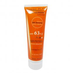 کرم ضدآفتاب رنگی دکتر ژیلا Spf63 حجم 50 گرم (نارنجی)