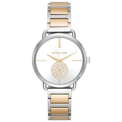 ساعت مچی عقربه ای مایکل کورس مدل MK3679 (طلایی - نقره ای)