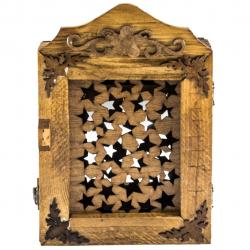 جا کلیدی شیانچی طرح ستاره کد 050008 (قهوه ای روشن)