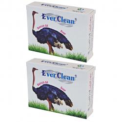 صابون اورکلین مدل Ostrich مجموعه 2 عددی حجم 70 گرم (سفید)