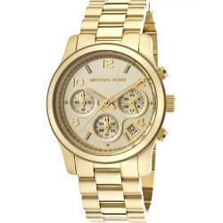 ساعت عقربه ای مایکل کورس مدل mk5055 (طلایی)
