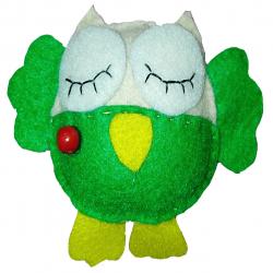 عروسک سورنا مدل عمو جغد شاخ دار