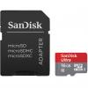 کارت حافظه microSDHC سن دیسک مدل Ultra کلاس 10 استاندارد UHS-I U1 سرعت 80MBps ظرفیت 16 گیگابایت