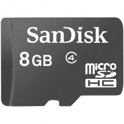 کارت حافظه microSDHC سن دیسک کلاس 4 ظرفیت 8 گیگابایت