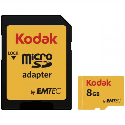 کارت حافظه microSDHC امتک کداک کلاس 10 استاندارد UHS-I U1 سرعت 85MBps 580X ظرفیت 8GB (زرد)