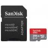 کارت حافظه microSDXC سن دیسک مدل Ultra A1 کلاس 10 استاندارد UHS-I ظرفیت 256 گیگابایت