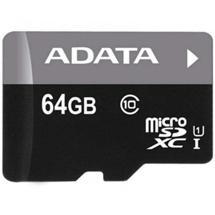 کارت حافظه microSDXC ای دیتا مدل Premier کلاس 10 استاندارد UHS-I U1 سرعت 50MBps ظرفیت - 64 گیگابایت