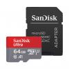کارت حافظه microSDXC سن دیسک مدل Ultra A1 کلاس 10 استاندارد UHS-I سرعت 100MBps ظرفیت 64 گیگابایت