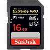 کارت حافظه SDHC سن دیسک مدل Extreme Pro کلاس 10 استاندارد UHS-I U3 ظرفیت 16 گیگابایت